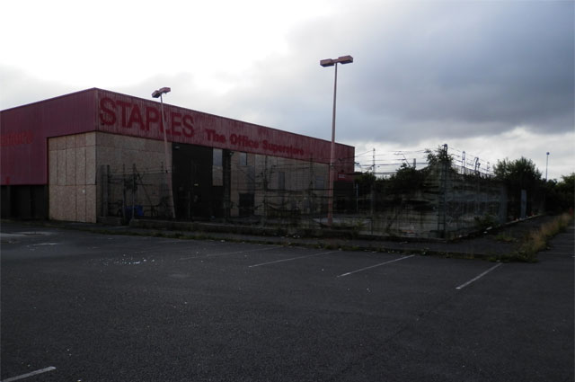 Redevelopment of existing site to create new retail facilities 1